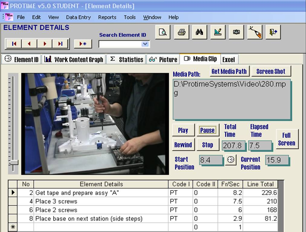 Lean Manufacturing Software Product 1
